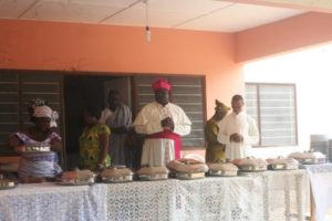 Fr. Emmanuel Fianu,SVD Celebrates With His Classmates 25 Years Of Dedicated Missionary Service As A Priest