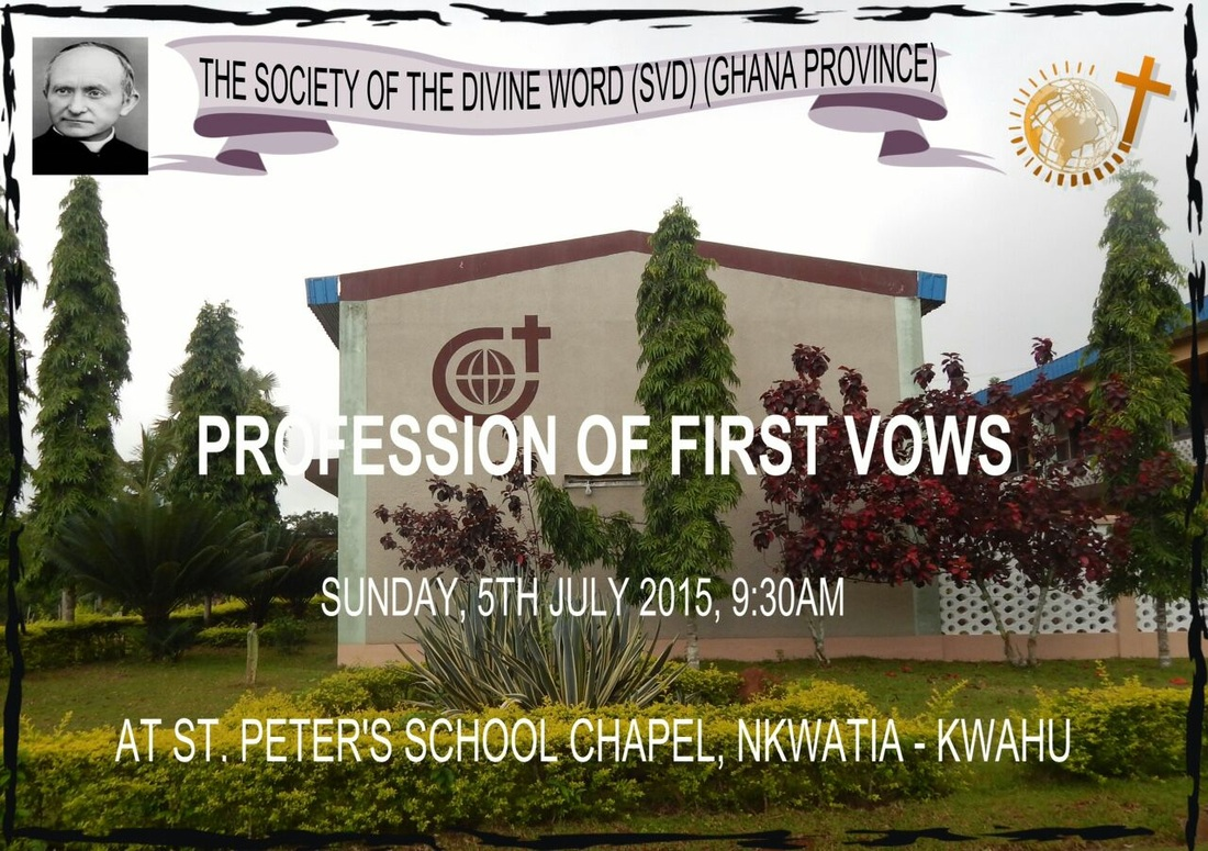 Profession Of First Vows